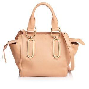 ✨See By Chloe peach leather handbag